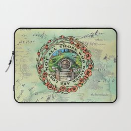 Not All Those Who Wander Laptop Sleeve