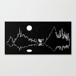 MTB Starz Canvas Print