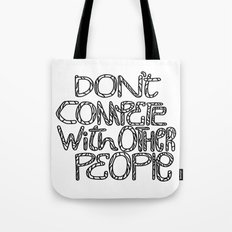 Compete With Yourself Tote Bag