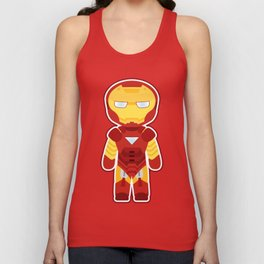 Chibi Iron Man Unisex Tank Top