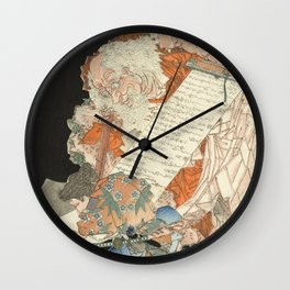 Sôjôbô, the king of the mythical mountain creatures Wall Clock