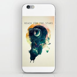 Reach for the Stars iPhone Skin