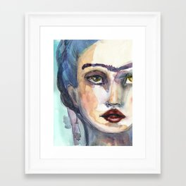 Frida Forever by Jane Davenport Framed Art Print