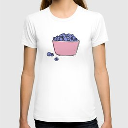 Blueberries in Pyrex T-shirt
