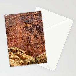 Three Kings Petroglyph - Mcconkie Ranch - Utah Stationery Cards
