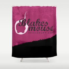 Blake's Mouse Shower Curtain