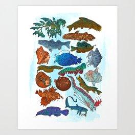 Reverse Mermaids 2021 Art Print