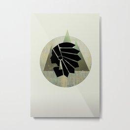 WOMANTREE Metal Print
