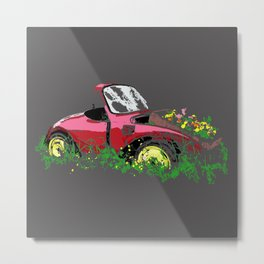 Retired Beetle Metal Print
