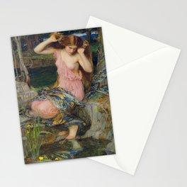 John William Waterhouse Lamia 1909 Stationery Cards