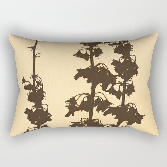 Florales · plant end 4 Rectangular Pillow