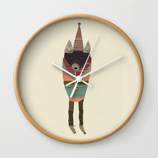 the jazz player (color  Wall Clock