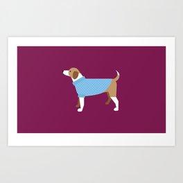New York Normal: Puppy Sweaters. Art Print