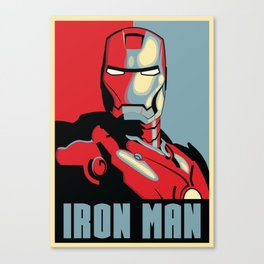IRON MAN HOPE Canvas Print