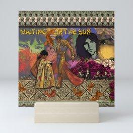 Waiting for the sun II Mini Art Print