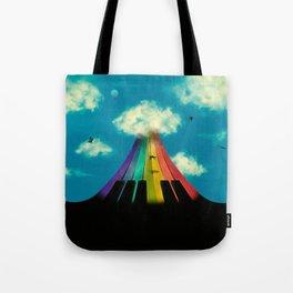 Seven notes, seven colors Tote Bag