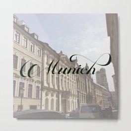 Munich Metal Print
