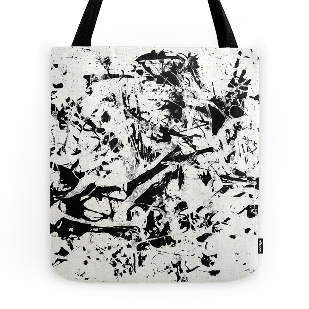 Little Demons In My Mind Tote Purse by fernandovieira (TBG7329184) photo