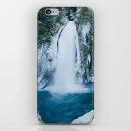Winter Wahclella Falls iPhone Skin