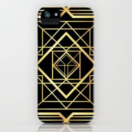 1920 Art deco Gatsby Style iPhone Case