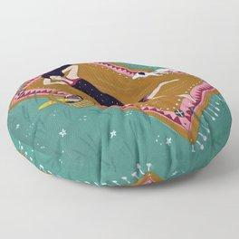 Picnic Sunday Floor Pillow