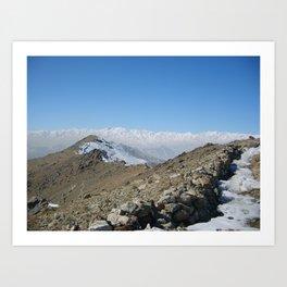 Afghanistan Art Print