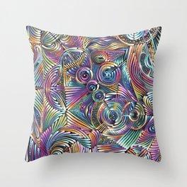 FLUX Throw Pillow