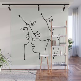 Poster-Jean Cocteau- L'Europe notre patrie (Europe our homeland). Wall Mural