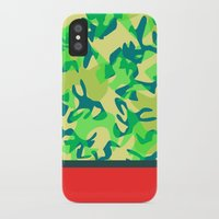 camo iPhone & iPod Cases featuring Camo by Ryan Ingram