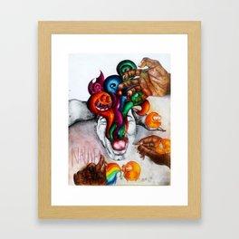 Nausea Framed Art Print