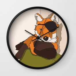 FOXEYE Wall Clock