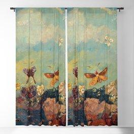 Odilon Redon - Butterflies Blackout Curtain