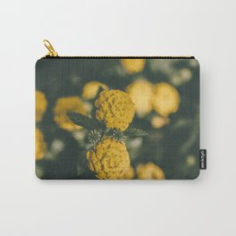 The Yellow Lantana Carry-All Pouch