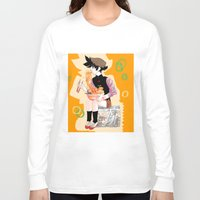 ramen Long Sleeve T-shirts featuring Royal Ramen by f-premaur