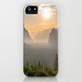 Morning Yosemite Landscape iPhone Case