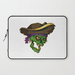 Art of a bloodthirsty pirate Laptop Sleeve