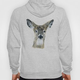 Doe Eyes by Teresa Thompson Hoody