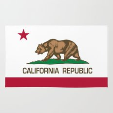 California Republic Flag - Bear Flag Rug
