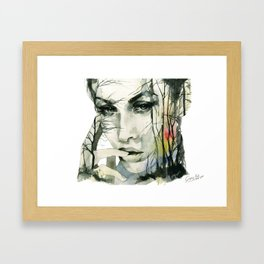 From the ground and the forests Framed Art Print