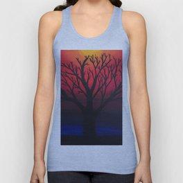 3 Visions Art Sun Tree Unisex Tank Top