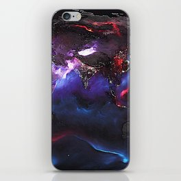 Beauty of Pollution / Aerosol Earth - Eastern Part iPhone Skin