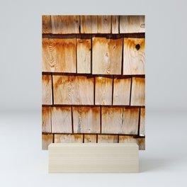 Wood Texture Mini Art Print