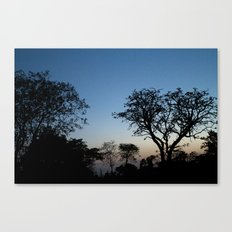 African Trees Canvas Print