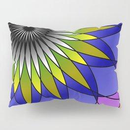 Daisy Mandala Pillow Sham