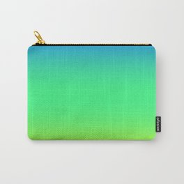 Tropical Horizon Ombre Carry-All Pouch