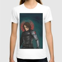 winter soldier T-shirts featuring Winter Soldier by toibi