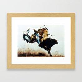 No Bull Framed Art Print