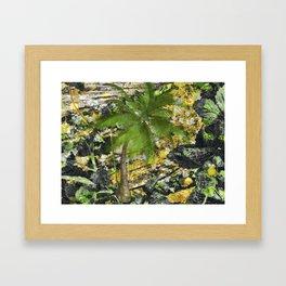 BUNGLE IN THE JUNGLE Framed Art Print