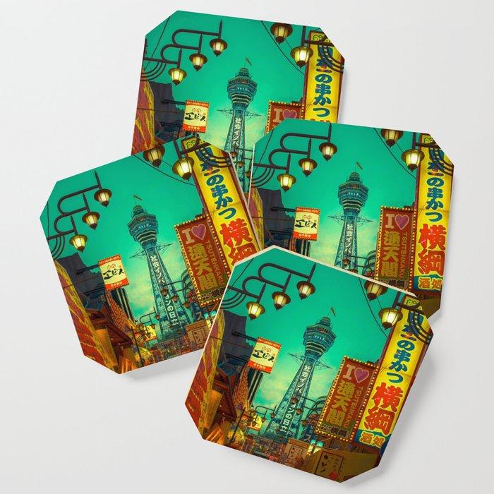 Osaka Nights - Shinsekai, New World / Liam Wong Coaster