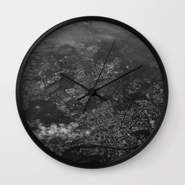 over structured world Wall Clock